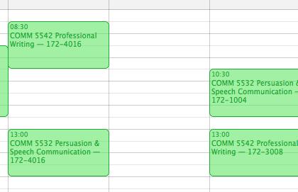 Schedule UNITEC