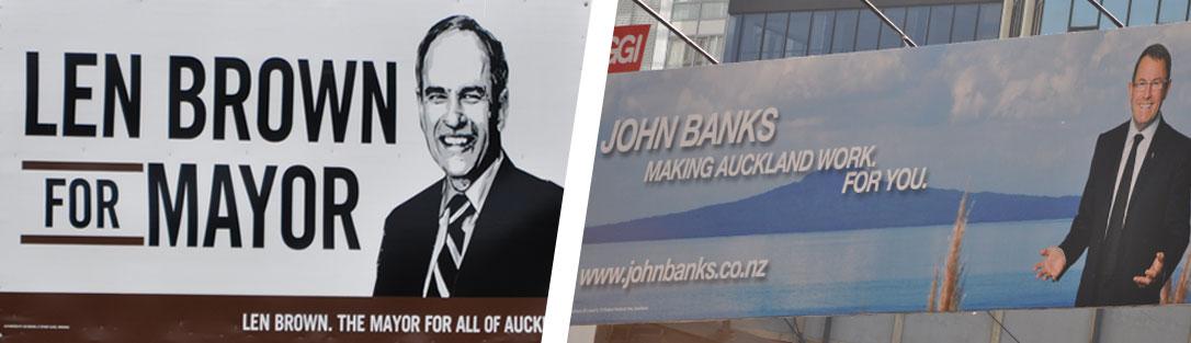 Auckland Candidates
