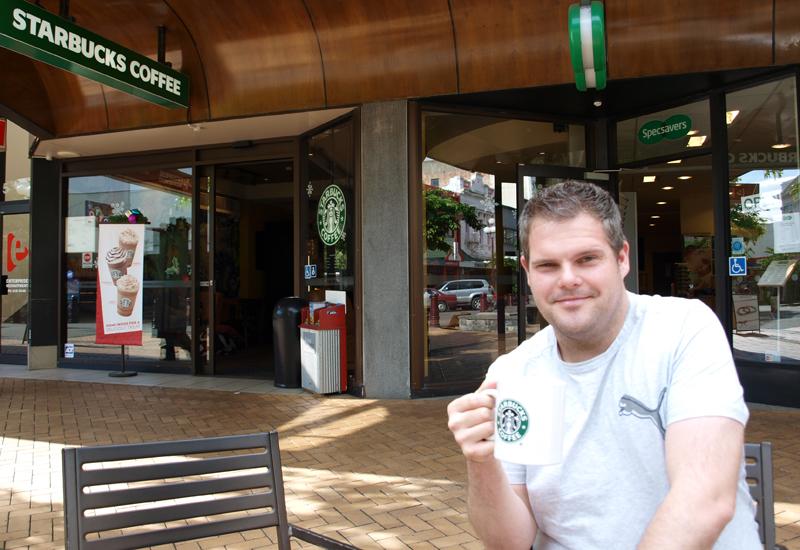 Tag 4 - Starbucks Invercargill