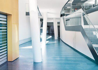 FH Wien Eingangsbereich